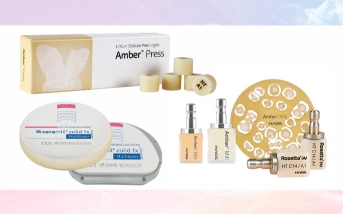 Amber® Mill, Amber®Press, Zolid gen-x multilayer