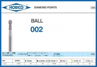 Freza Diamantata Horico H 002 018
